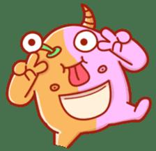 PINK KAIJYU sticker #9609604