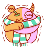PINK KAIJYU sticker #9609611