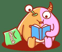 PINK KAIJYU sticker #9609619