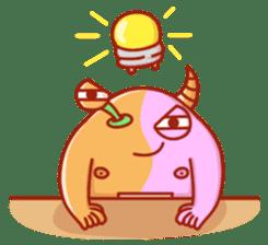 PINK KAIJYU sticker #9609621
