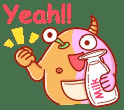 PINK KAIJYU sticker #9609623