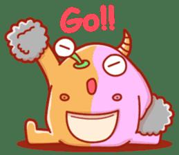 PINK KAIJYU sticker #9609627