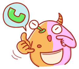 PINK KAIJYU sticker #9609632