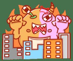 PINK KAIJYU sticker #9609634