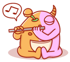 PINK KAIJYU sticker #9609636
