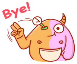 PINK KAIJYU sticker #9609638