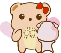Bear and Piggy ''Cute sticker #9615466