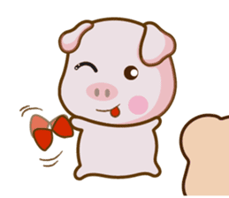 Bear and Piggy ''Cute sticker #9615468