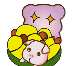 Bear and Piggy ''Cute sticker #9615470
