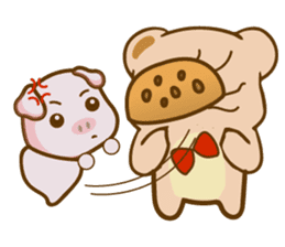 Bear and Piggy ''Cute sticker #9615478