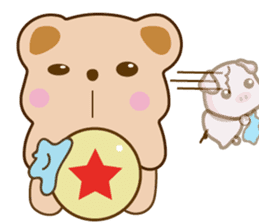 Bear and Piggy ''Cute sticker #9615480