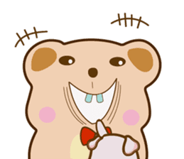 Bear and Piggy ''Cute sticker #9615486