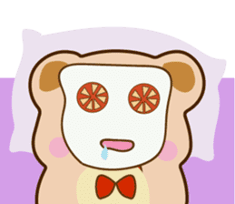 Bear and Piggy ''Cute sticker #9615496