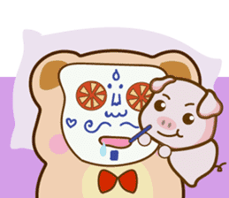 Bear and Piggy ''Cute sticker #9615498