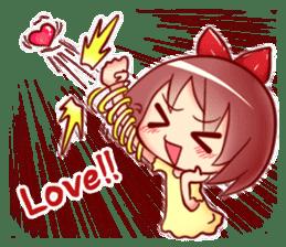 Too love you Sticker English sticker #9629808