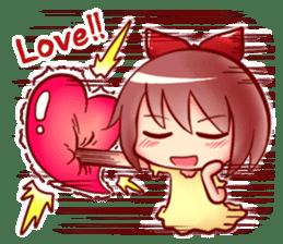 Too love you Sticker English sticker #9629809