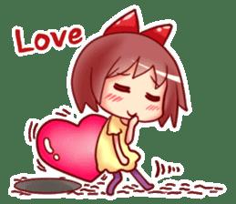 Too love you Sticker English sticker #9629824