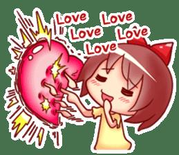 Too love you Sticker English sticker #9629831