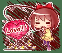 Too love you Sticker English sticker #9629833