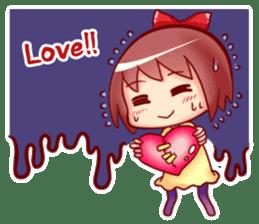 Too love you Sticker English sticker #9629838