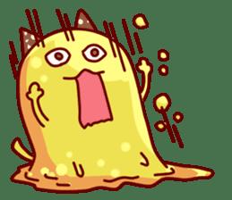 "Cheese Cat ""Cherish""Sticker English sticker #9630132"