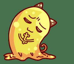 "Cheese Cat ""Cherish""Sticker English sticker #9630134"