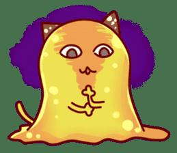 "Cheese Cat ""Cherish""Sticker English sticker #9630135"