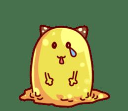 "Cheese Cat ""Cherish""Sticker English sticker #9630138"