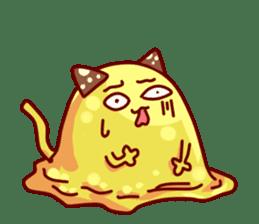 "Cheese Cat ""Cherish""Sticker English sticker #9630141"