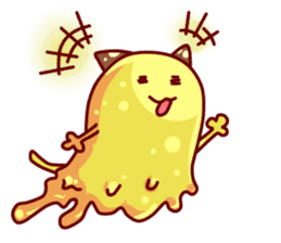 "Cheese Cat ""Cherish""Sticker English sticker #9630144"