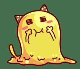 "Cheese Cat ""Cherish""Sticker English sticker #9630145"