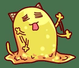 "Cheese Cat ""Cherish""Sticker English sticker #9630146"