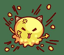 "Cheese Cat ""Cherish""Sticker English sticker #9630148"