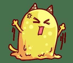 "Cheese Cat ""Cherish""Sticker English sticker #9630150"