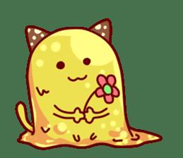 "Cheese Cat ""Cherish""Sticker English sticker #9630154"