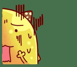 "Cheese Cat ""Cherish""Sticker English sticker #9630165"