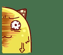 "Cheese Cat ""Cherish""Sticker English sticker #9630166"