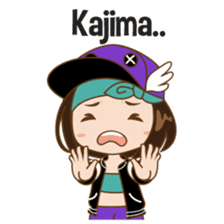 Chibi Korean Girl sticker #9630894