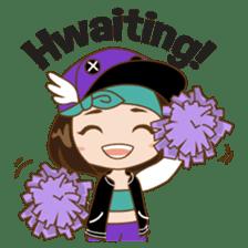 Chibi Korean Girl sticker #9630896
