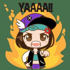 Chibi Korean Girl sticker #9630903
