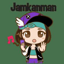 Chibi Korean Girl sticker #9630904