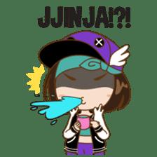 Chibi Korean Girl sticker #9630920