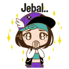 Chibi Korean Girl sticker #9630923