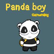 สติ๊กเกอร์ไลน์ Panadaboy gameming
