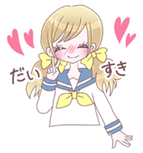 Best friend Serina & Yuri sticker #9639669
