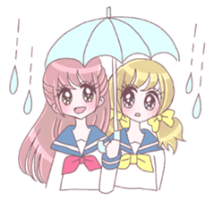 Best friend Serina & Yuri sticker #9639677