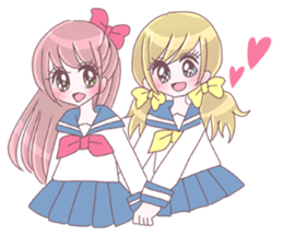 Best friend Serina & Yuri sticker #9639679