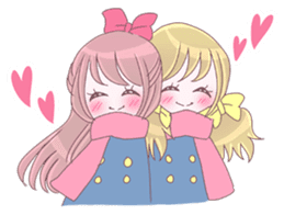 Best friend Serina & Yuri sticker #9639680