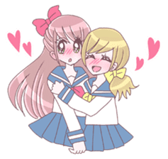 Best friend Serina & Yuri sticker #9639685