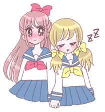 Best friend Serina & Yuri sticker #9639686